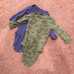 9 month boys long sleeve onesies